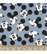 Disney® Mickey Head Toss Chambray Fabric, , hi-res