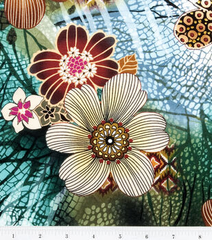Legacy Studio Cotton Fabric-Tigris Master Floral