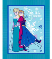 "Disney Frozen Winter Magic 48"" No Sew Fleece Throw, , hi-res"