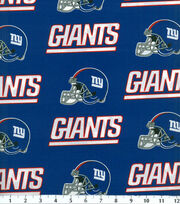 New York Giants NFL Cotton Fabric by Fabric Traditions, , hi-res