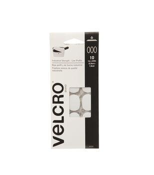 "Velcro® Brand Ultra-Mate® Coins 1""x 3/4"" 10 Sets-Black"