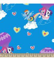 Hasbro® My Little Pony® Print Fabric-Pony Rainbows, , hi-res