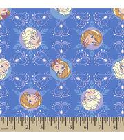 Disney Frozen Winter Magic Snowflake Corduroy Fabric, , hi-res