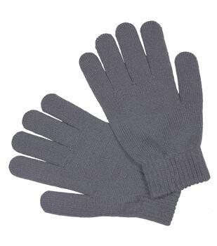 Laliberi Winter Knit Heavyweight Gloves In Light Grey