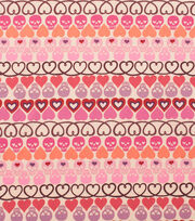 Alexander Henry Cotton Fabric-Hearts + Bones Tea, , hi-res