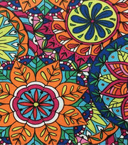 Keepsake Calico™ Cotton Fabric-Coloring Book Mandala, , hi-res