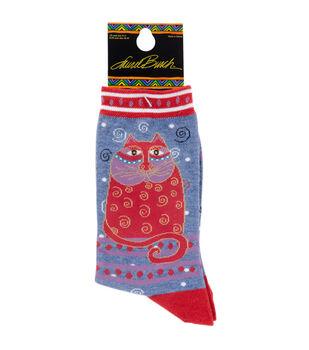 Crimson Cay-Laurel Burch Socks