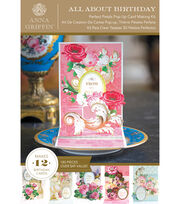 Anna Griffin Perfect Petals Pop Up Cardmaking Kit, , hi-res