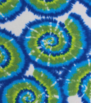 Anti-Pill Fleece Fabric-Zack Tie Dye