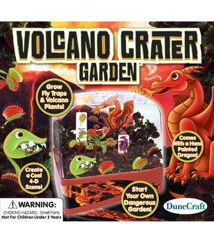 Volcano Crater Garden Bi-Level Terrarium