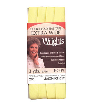Wrights X-Wide Double Fold Bias Tape