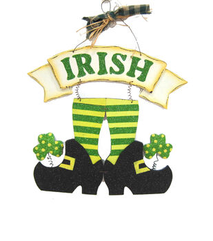 St. Patrick's Day Irish Legs Wall Decor
