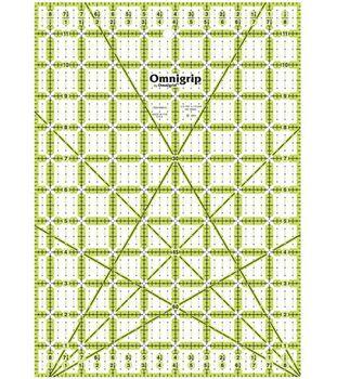 """Omnigrip Neon Ruler-8-1/2""""x12"""