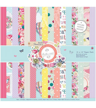 Papermania Bellissima Paper Pack 12''x12''