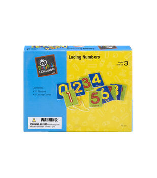Busy Kids Learning Lacing Numbers Kit