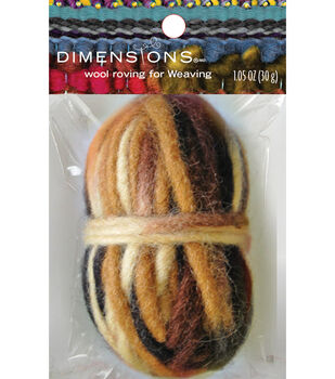 Dimensions Brown Variegated Pencil Roving