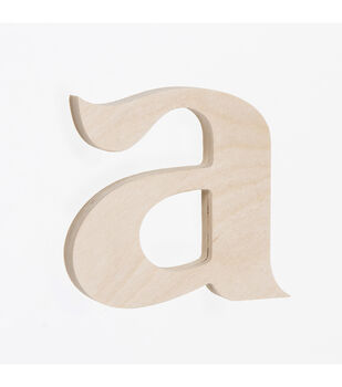 Wood crafts wood craft supplies jo ann for Darice 7 fancy wood letters