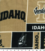 University of Idaho NCAA  Fleece Fabric, , hi-res