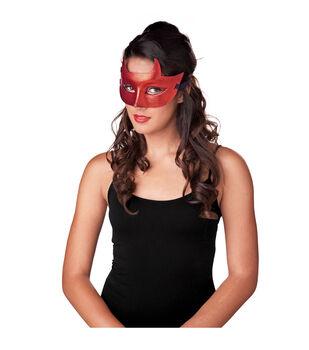 Maker's Halloween Devil Mask-Red