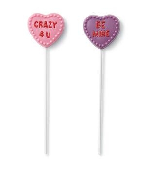 Candy Heart Lolli Mold