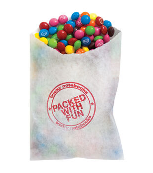 Paper House® 4''x6'' 96 Page Tricky Notebook-Bag Of Candy