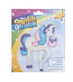 Colorbok® Makit&Bakit Suncatcher Kit-Glitter Unicorn