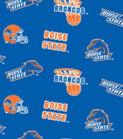 Boise State NCAA  Fleece Fabric, , hi-res