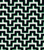 Keepsake Calico Cotton Fabric-Maze Blue Green, , hi-res