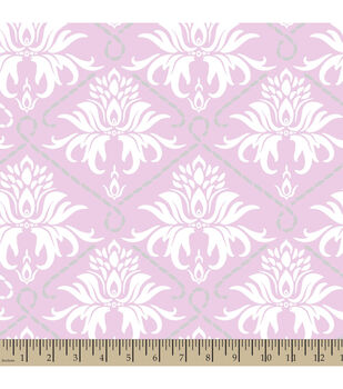 Nursery Fabric Concord House Sloan Damask Fleece