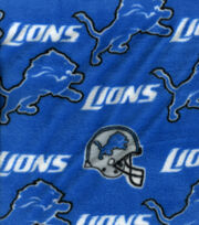 Detroit Lions NFL Fleece Fabric by Fabric Traditions, , hi-res