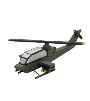 Wood Kit-Helicopter