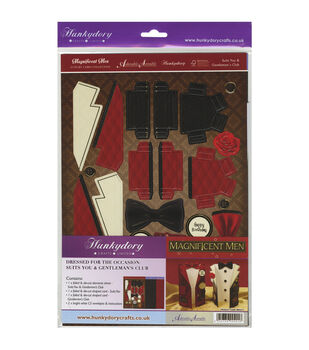 Hunkydory Crafts Magnificent Men Suits You & Gentleman's Club Card Kit