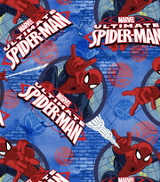 Marvel Spidey Frames Fleece Fabric, , hi-res