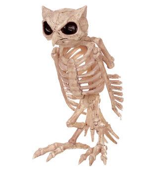 The Boneyard Owl Skeleton