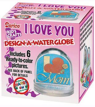 "Darice Kid's Crafts Design-A-Water Globe-3-1/4"""