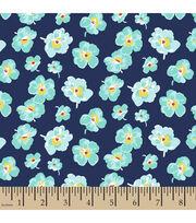 Springmaid® Cotton Fabric-Meadow Street Floral , , hi-res