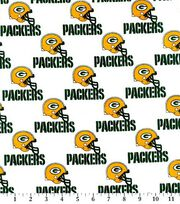 Green Bay Packers NFL Cotton Fabric by Fabric Traditions, , hi-res
