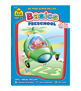 Super Deluxe Workbook-Preschool Basics