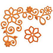 Spellbinders Shapeabilities Die D-Lites-Floral Corner 1, , hi-res