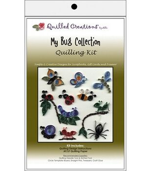 Quilled Creations Quilling Kits-My Bug Collection