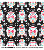 Star Wars™ Character Sugar Skulls Cotton Fabric, , hi-res