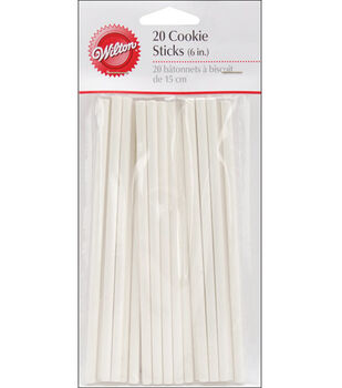 Wilton® 6'' Cookie Sticks-20PK