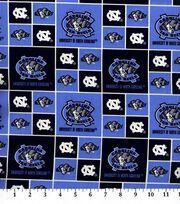 University of North Carolina NCAA  Cotton Fabric, , hi-res