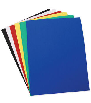 Fibrecraft 2mm Foam Sheets-12PK/Multi-Color