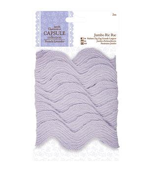 Papermania Capsule French Lavender Jumbo Ric Rack