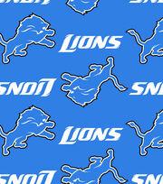 Detroit Lions NFL Ultra Fluffy Fleece Fabric, , hi-res