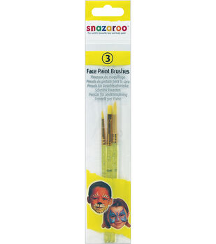 Snazaroo Face Painting Brush 3pk