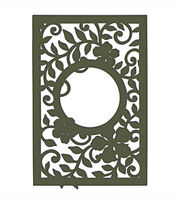 Heartfelt Creations Cut & Emboss Dies Decorative Leafy Frame, , hi-res