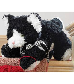 Huggables Kitten Stuffed Toy Latch Hook Kit