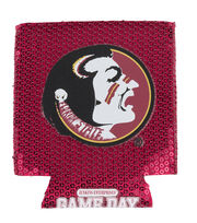 Florida State NCAA Sequin Koozie, , hi-res